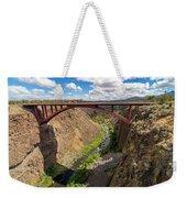 Highway 97 Bridge Weekender Tote Bag