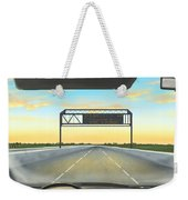 Highway Weekender Tote Bag