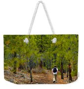 Hike On 2 Weekender Tote Bag