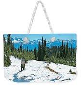 Hiking In Spring In Revelstoke National Park-british Columbia  Weekender Tote Bag