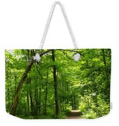 Hiking Trails To Mont Morency Falls Weekender Tote Bag