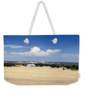 Hill Country And Enchanted Rock Panorama Weekender Tote Bag