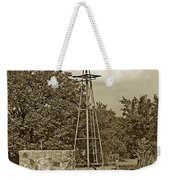 Hill Country Windmill Weekender Tote Bag