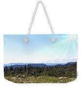 Hill View - Summer - Berry Picking Barrens Weekender Tote Bag
