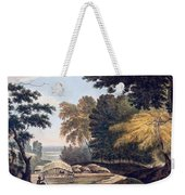 Hill Village In The District Of Bauhelepoor Weekender Tote Bag