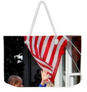 Hillary Clinton Weekender Tote Bag by Ed Weidman