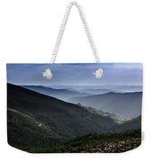 Hills And Valleys Weekender Tote Bag