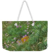 Hillside Of Wildflowers Weekender Tote Bag