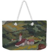 Hilltop Village Switzerland Weekender Tote Bag