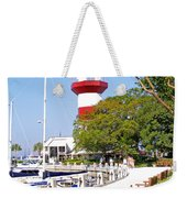 Hilton Head Lighthouse And Marina 2 Weekender Tote Bag