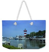 Hilton Head Lighthouse And Marina Weekender Tote Bag