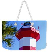 Hilton Head Lighthouse Upclose Weekender Tote Bag