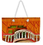 A Beautiful Balcony - Himalaya India Weekender Tote Bag