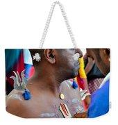 Hindu Devotees Prepare For Thaipusam Festival Singapore Weekender Tote Bag
