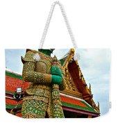 Hindu Figure At Grand Palace Of Thailand In Bangkok Weekender Tote Bag