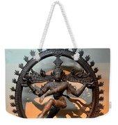 Hindu Statue Of Shiva In Nataraja Dance Pose Weekender Tote Bag