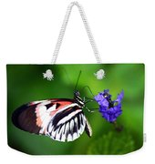 Hint Of Red Butterfly Weekender Tote Bag