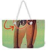 Hip Replacement Weekender Tote Bag