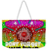 Hippie Art Weekender Tote Bag