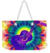 Hippie Guitar Weekender Tote Bag