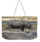 Hippo - Family Weekender Tote Bag