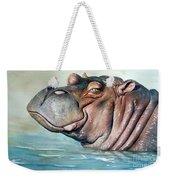 Hippo Lisa Weekender Tote Bag