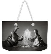 Hippo's Fighting Weekender Tote Bag