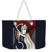 His Absence And Pain's Piercing Presence Weekender Tote Bag