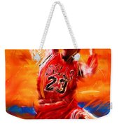 His Airness Weekender Tote Bag
