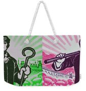 His And Hers Cultural Revolution Weekender Tote Bag
