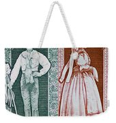 His And Hers Traditional Costumes Weekender Tote Bag
