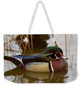 His Majesty Wood Duck Weekender Tote Bag