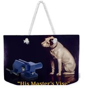 His Master's Vise Weekender Tote Bag