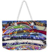 His Tshirt Collection Weekender Tote Bag