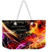 His Word In My Heart Weekender Tote Bag