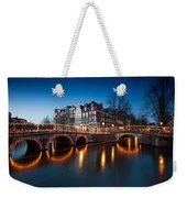 Historic Amsterdam Weekender Tote Bag