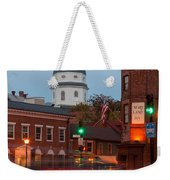 Historic Annapolis And Evening Traffic I Weekender Tote Bag