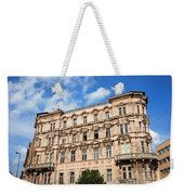 Historic Apartment House In Budapest Weekender Tote Bag