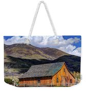 Historic Barn - Wasatch Front Weekender Tote Bag