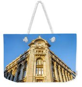 Historic Building Facade Weekender Tote Bag