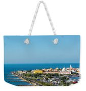 Historic Cartagena And Sea Weekender Tote Bag