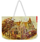 Historic Chruches St Louis Mo - Digital Effect 3 Weekender Tote Bag