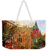 Historic Churches St Louis Mo - Digital Effect 6 Weekender Tote Bag