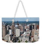 Historic City Centre Baltimore Weekender Tote Bag