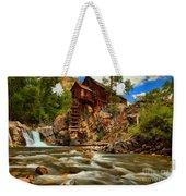 Historic Colorado Landscape Weekender Tote Bag