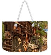Historic Crystal Mill Weekender Tote Bag by Adam Jewell