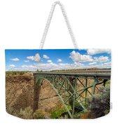 Historic Highway Bridge Weekender Tote Bag