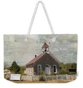 Historic Hinerville School  House  Weekender Tote Bag