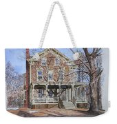 Historic Home Westifled New Jersey Weekender Tote Bag by Anthony Butera