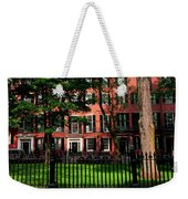 Historic Homes Of Beacon Hill, Boston Weekender Tote Bag